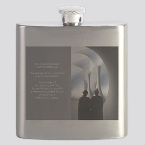 Cathedral Flask