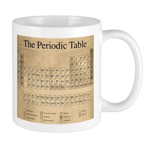 Periodic table mugs cafepress urtaz Choice Image