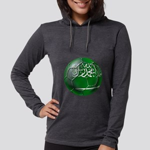 Saudi Arabia Soccer Womens Hooded Shirt