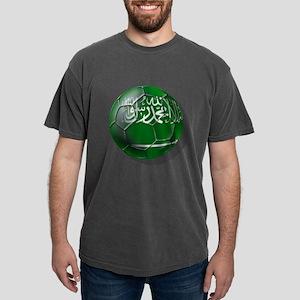 Saudi Arabia Soccer Mens Comfort Colors Shirt