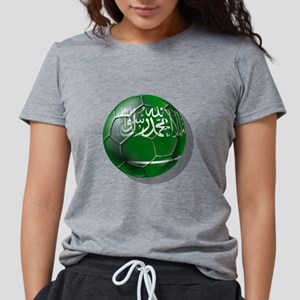 Saudi Arabia Soccer Womens Tri-blend T-Shirt