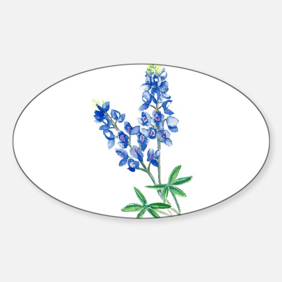 Watercolor Bluebonnet 1 Decal