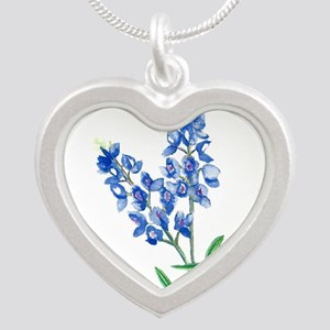 Watercolor Bluebonnet 1 Necklaces