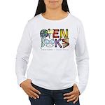 Open Books Women's Long Sleeve T-Shirt