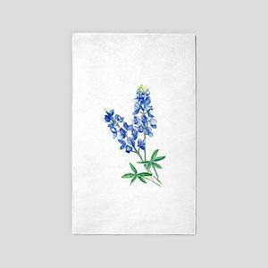 Watercolor Bluebonnet 1 Area Rug
