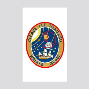 STS-30 Sticker (Rectangle)