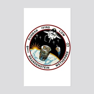 STS-32 Columbia Sticker (Rectangle)