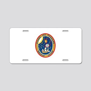 STS-30 Aluminum License Plate