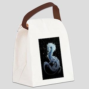 white dragon Canvas Lunch Bag