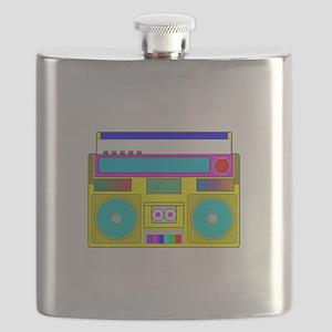 Funky Neon Radio Flask