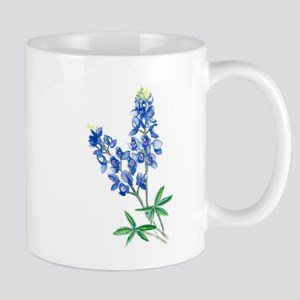 Watercolor Bluebonnet 1 Mugs