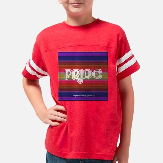 pride_circle Youth Football Shirt