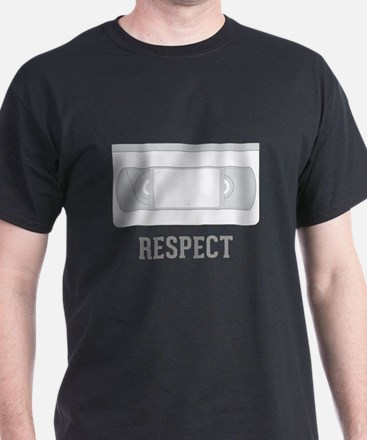 Respect the Video Tape T-Shirt