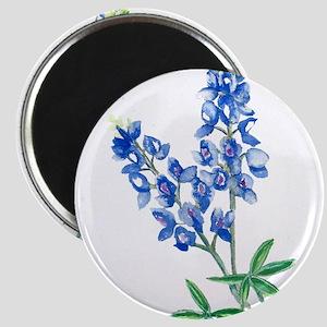 Watercolor Bluebonnet 1 Magnets