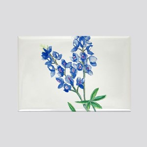 Watercolor Bluebonnet 1 Magnets