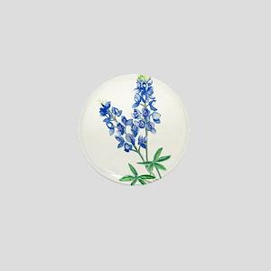 Watercolor Bluebonnet 1 Mini Button
