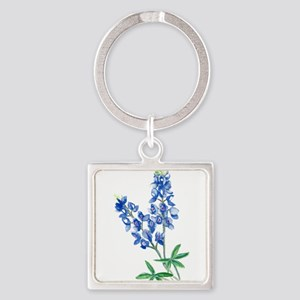 Watercolor Bluebonnet 1 Keychains
