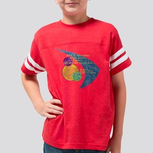 SpockMathQtswoop Youth Football Shirt