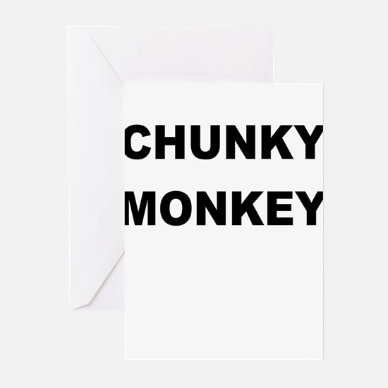 CHUNKY MONKEY Greeting Cards (Pk of 20)