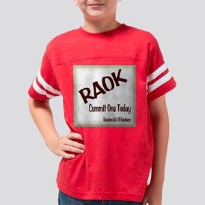 Random Act Of Kindness Youth Football Shirt