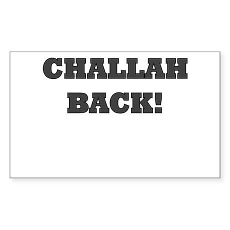 challah back Sticker