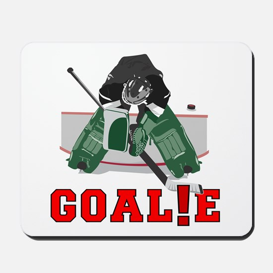 GOAL!E(GOALIE) Mousepad