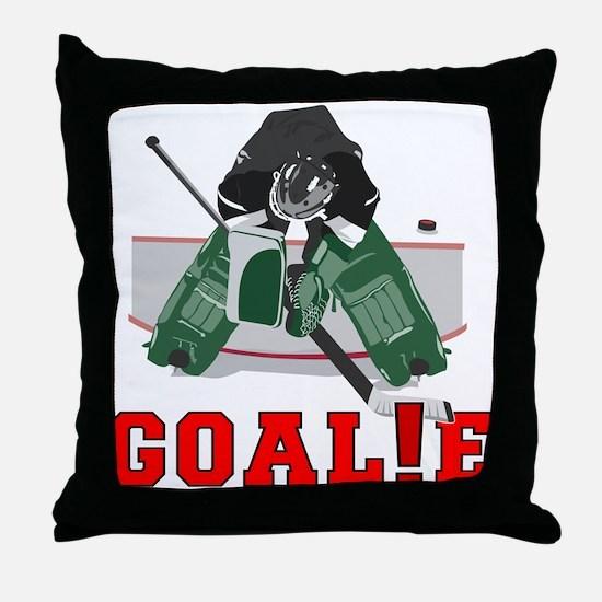 GOAL!E(GOALIE) Throw Pillow