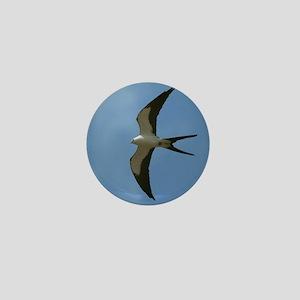Swallow-tailed Kite Mini Button