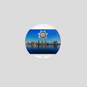 San Diego Sheriff Skyline Mini Button