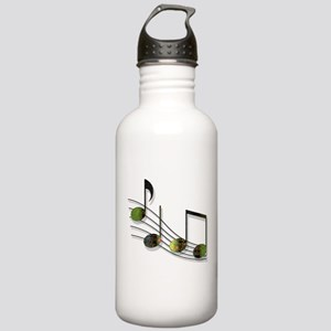 Dubstep Notes Stainless Water Bottle 1.0L