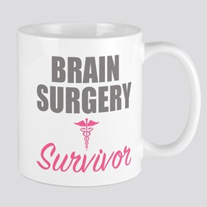 Brain Surgery Survivor Mugs