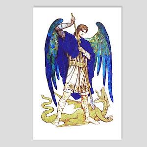 Saint Michael -5- Postcards (Package of 8)