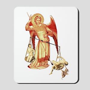 Saint Michael -8- Mousepad