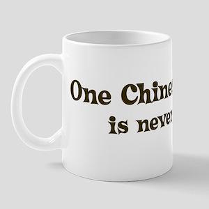 One Chinese Crested Mug