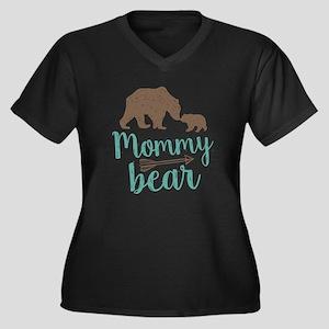 Mommy Bear Plus Size T-Shirt