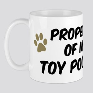Toy Poodle: Property of Mug