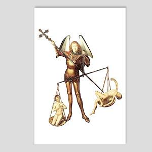 Saint Michael -7a- Postcards (Package of 8)