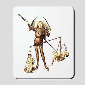 Saint Michael -7- Mousepad