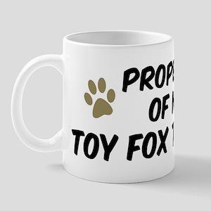 Toy Fox Terrier: Property of Mug