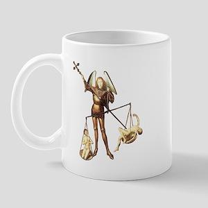 Angel Saint Michael -7b- Left Handed - Mug
