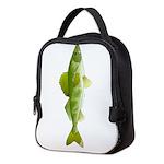 walleye f Neoprene Lunch Bag