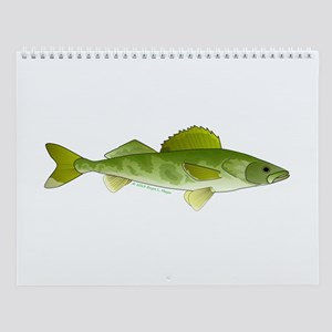 Great Lakes fishes Wall Calendar