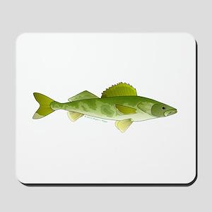 walleye f Mousepad