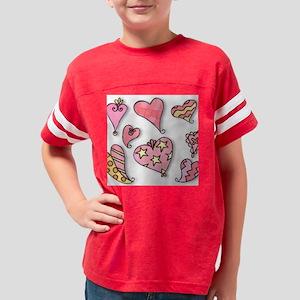 pinkhearts Youth Football Shirt