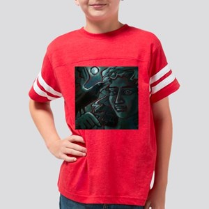 Midnight Message Pillow Youth Football Shirt