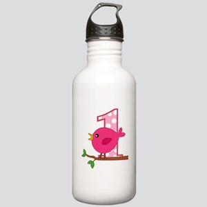 First Birthday Birdie Stainless Water Bottle 1.0L