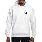 Fins & Bubbles Hooded Sweatshirt