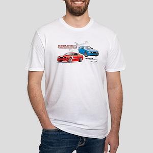 Mustang Burnout Trimmed T-Shirt