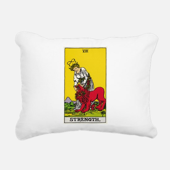 STRENGTH Rectangular Canvas Pillow