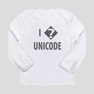 I Love Unicode Long Sleeve T-Shirt